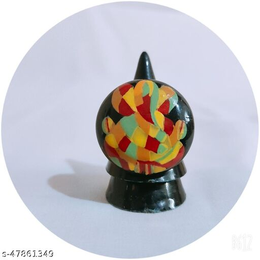 Wooden hand painting ring