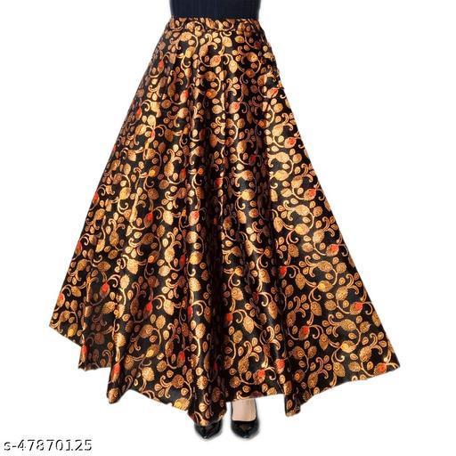 Aagam Attractive Women Ethnic Skirts