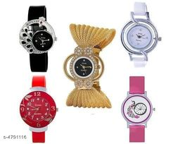 Trendy Stylish Women's Watches Combo