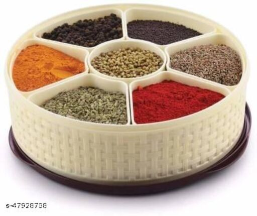 Masala Box/Spice Container Round 1 Piece Spice Set