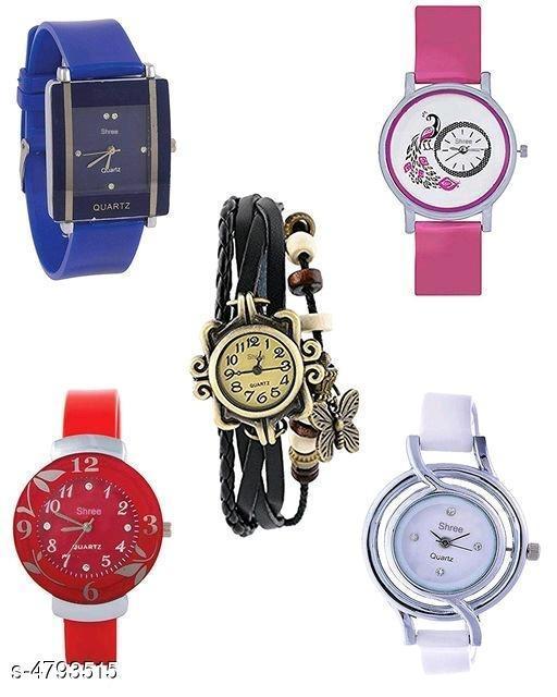 Trendy Stylish Leather Watch