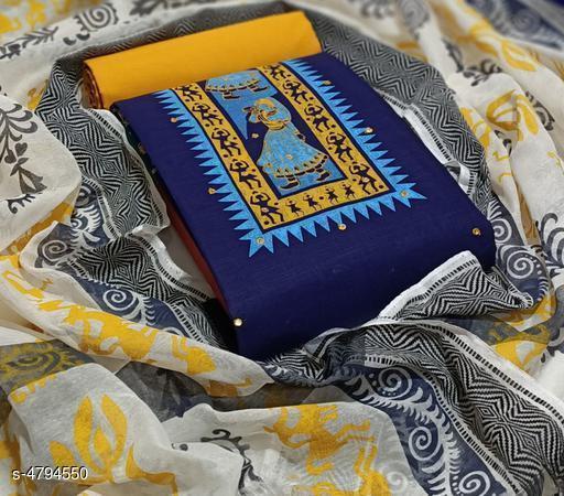Aradhya Women Cotton  Suits & Dress Materials