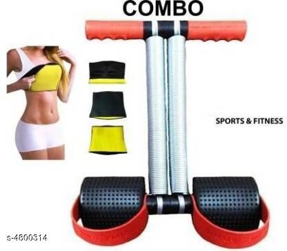 HOT SHAPER BELT WITH DOUBLE STEEL Home Gym Kit ()
