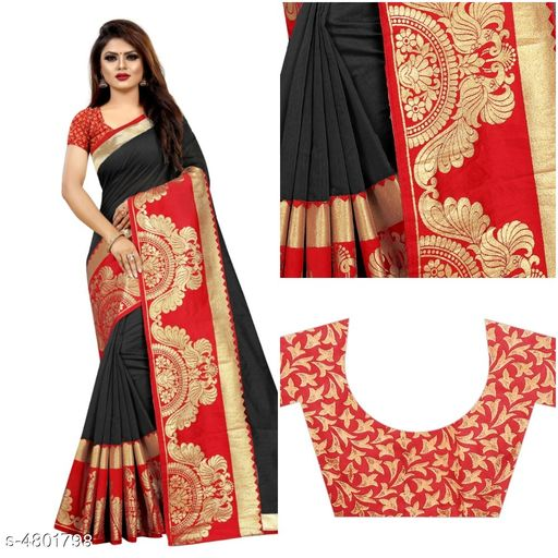 Aagyeyi Fabulous Chanderi Cotton Saree