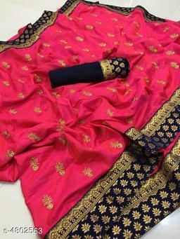 Trendy Women Golden Girl Saree