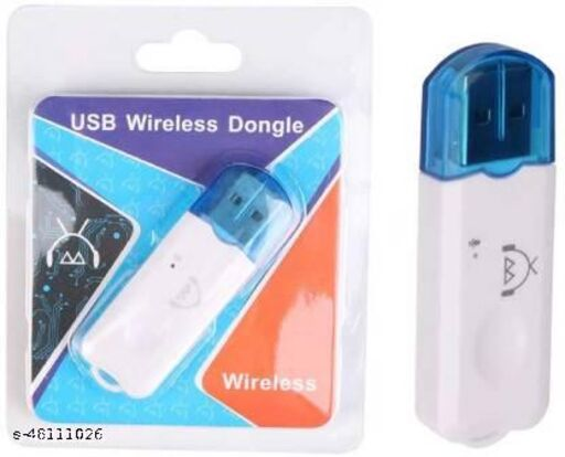 gigON v4.0 Car Bluetooth Device with Audio Receiver, Adapter Dongle  (White, Blue)