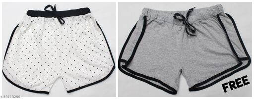 BUY PRINTED SHORTS AND GET A SOLID SHORTS ABSOLUTELY FREE