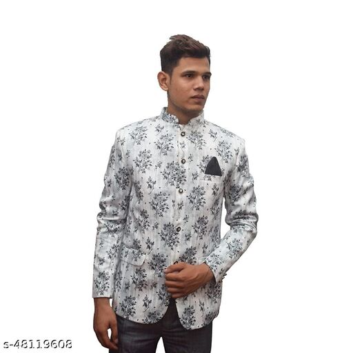MUSTKEEM Men's Notch/bandgala Lapel Regular Fit Blazer Available in