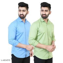 Elite Modern Men's Shirts Combo (Pack Of 2)