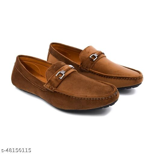 LeeRooy Flexible Loafer Shoes for men Casual Wear Partywear