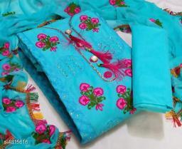 New Modal Women's Paper Cotton Suis & Dress Materials
