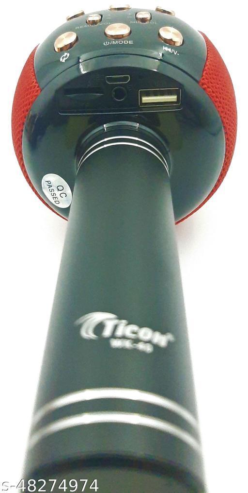 Ticon Wireless Microphone Speaker wk40 Red