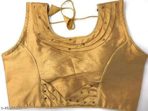 Aarohi13 Trendy Women Blouses GOLD