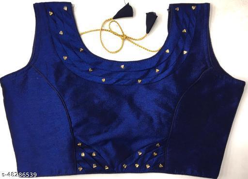 Aarohi13 Trendy Women Blouses NAVY BLUE