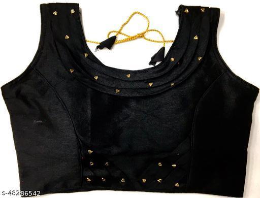 Aarohi13 Trendy Women Blouses BLACK