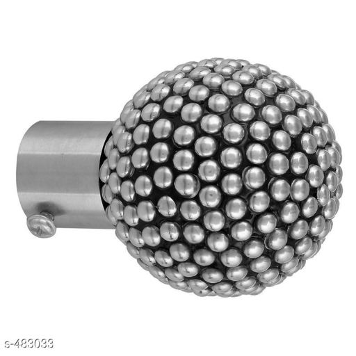 Useful Stainless Steel Curtain Knobs Set Of 4