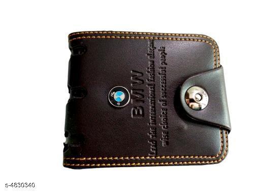Trendy Stylish PU Leather Men's Wallet