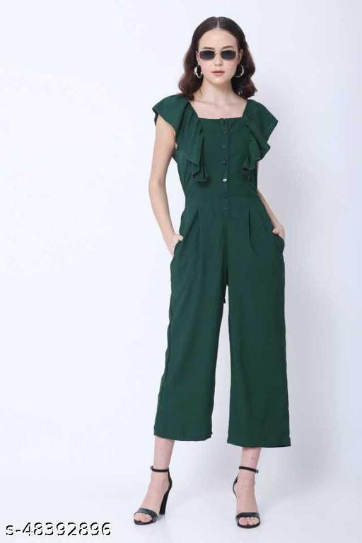 Evook Stylish sleeveless jumpsuit for women