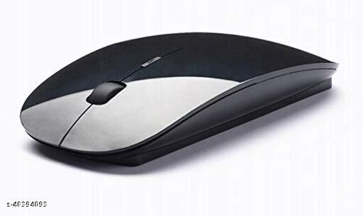 WETECH Ultra Slim Wireless Mouse Compact Ergonomic Wireless PC Mouse with Fast Scrolling