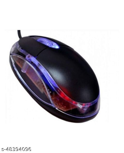 MVTECH Wired Computer Mouse with RGB | USB Optical Mouse for Laptop, Chromebook & More | 2000 DPI, Ergonomic.