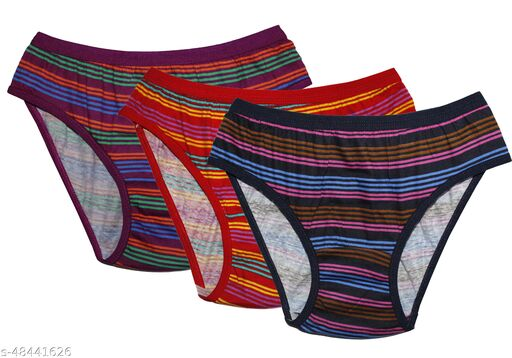 Women Hipster Multicolor Hosiery Panty (Pack of 3)