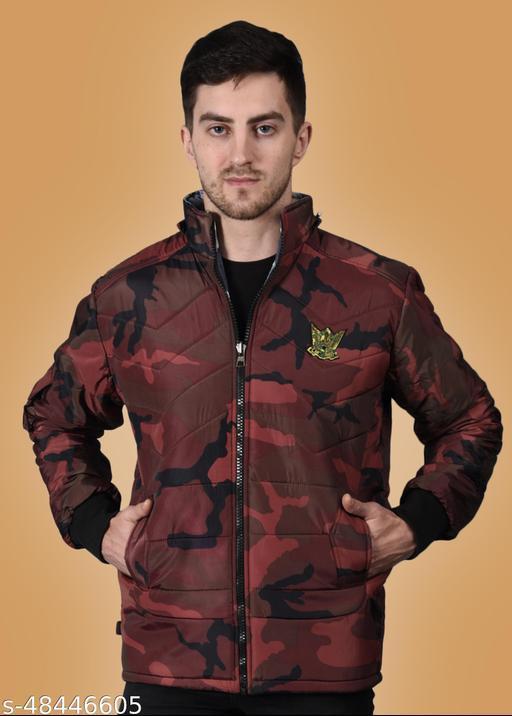 Trendy Men Nylon full Sleeves Jacket