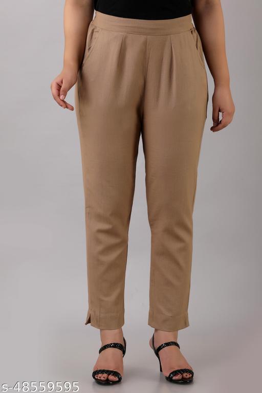 Pretty Graceful Women Women Trousers