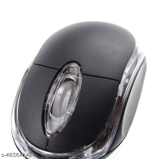GENERIC Wired Computer Mouse with RGB | USB Optical Mouse for Laptop, Chromebook & More | 2000 DPI, Ergonomic.
