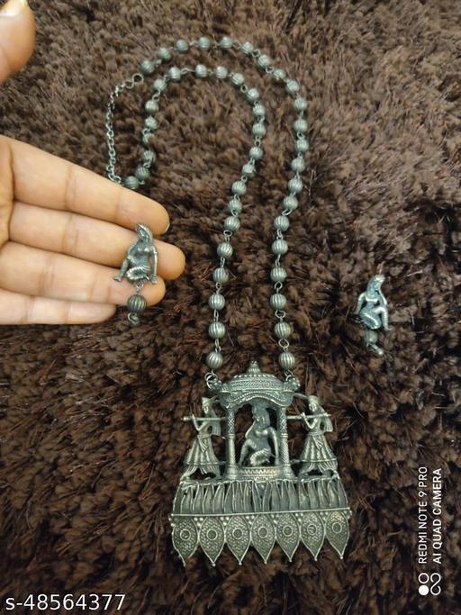 Oxidised jewellery set for women