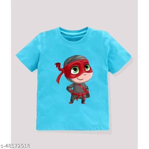 Kids cotton printed T-shirt