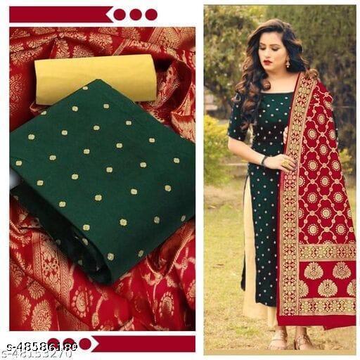 New Banarasi silk salvar suit