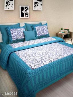 Attractive Cotton  90*100 Double Bedsheest