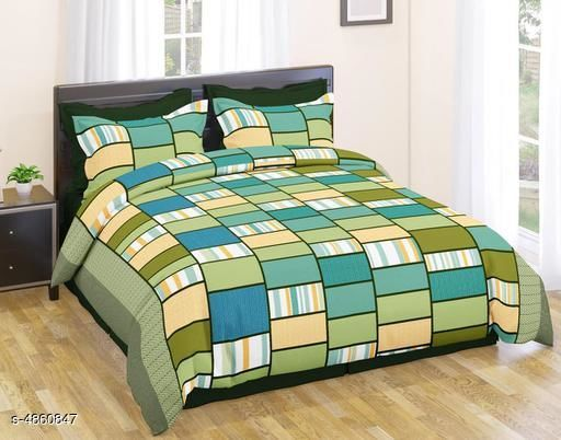 Gorgeous 100% Polyester 88X86 Double Bedsheet