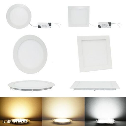 Slim SQ/RD 4 WATT Ceiling Light