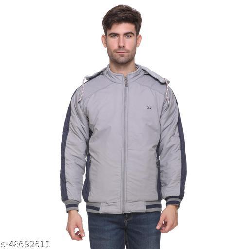 Maggivox Men's Nylon Reversible Jackets - Grey
