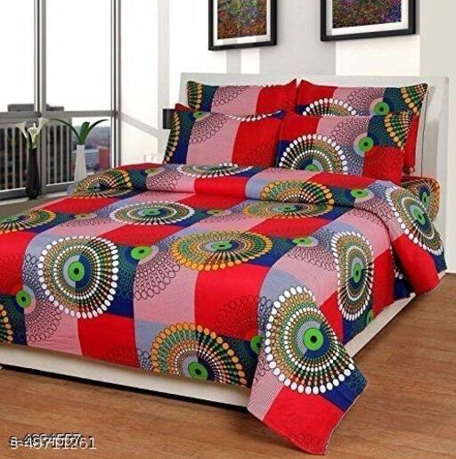 Best Polycotton Printed Double Bedsheets