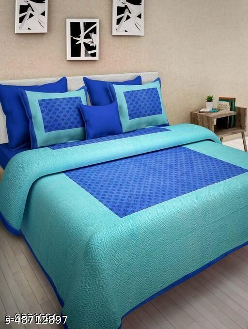 Classy Comfy Double Bedsheet