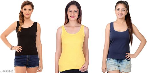 LA MELODIA CAMISOLE PACK OF 3