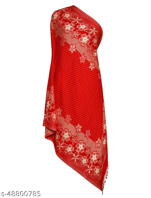 CHKOKKO Women Reversible Winter Shawl