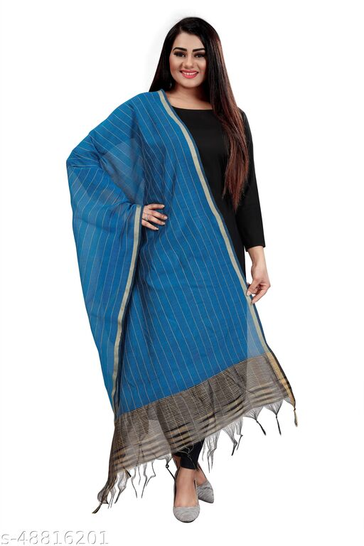 Ethnic studio present's new chanderi dupatta for woman/girls appropriate to all type of function