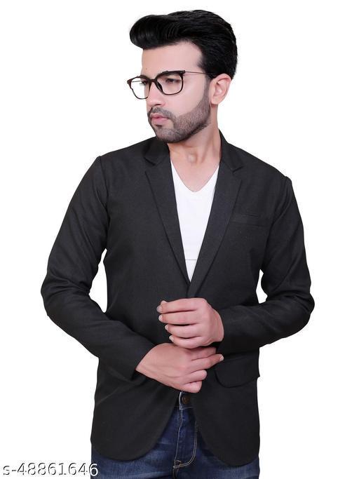 Click One Casual Viscose Blazer For Men's
