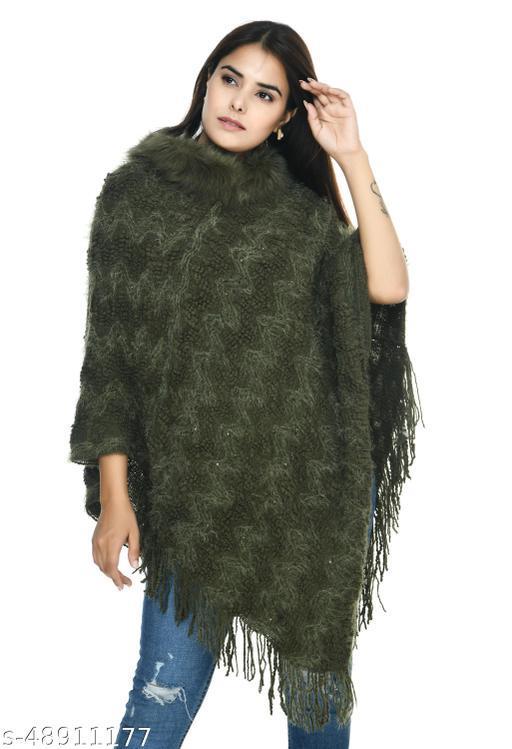 Urbane Glamorous Women Capes, Shrugs & Ponchos