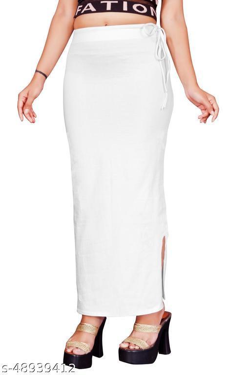 Women's Microfiber Saree Shapewear & Petticoat for Women With Drawsting(ROPE)