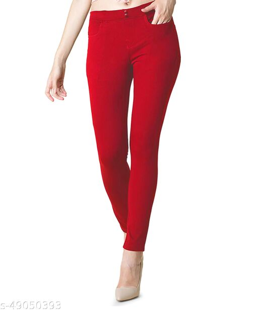 O2S2 Stretchable Jegging For Girls & Women