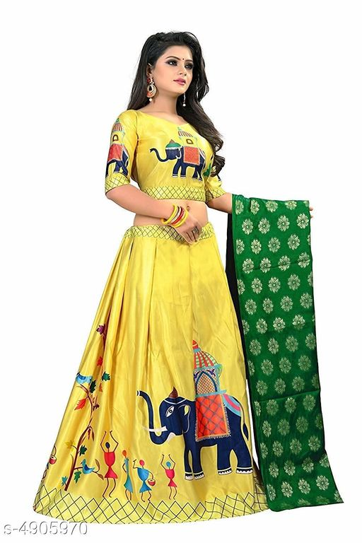 Attractive Fashionable Lehenga Choli
