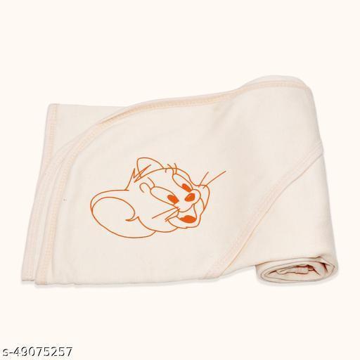 Newborn Ultrasoft Light Weight Printed Baby Cap Towel