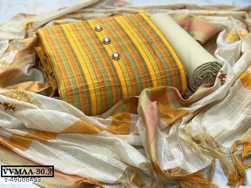 Vrindavrihas Dress Material Suit  For Women
