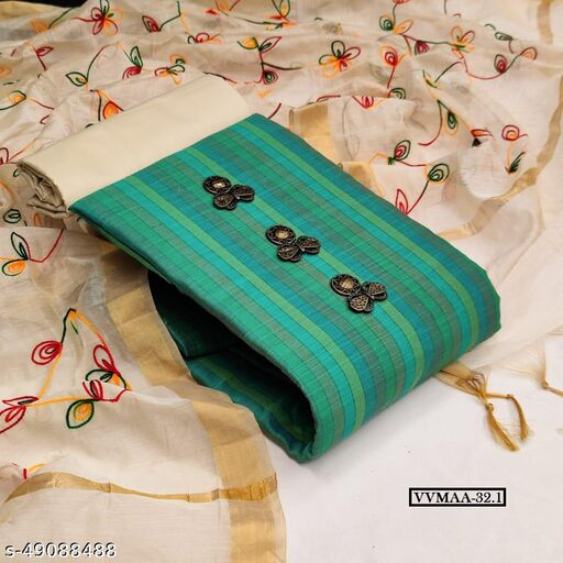Vrindavrihas Exclusive Dress Material Suit  For Women