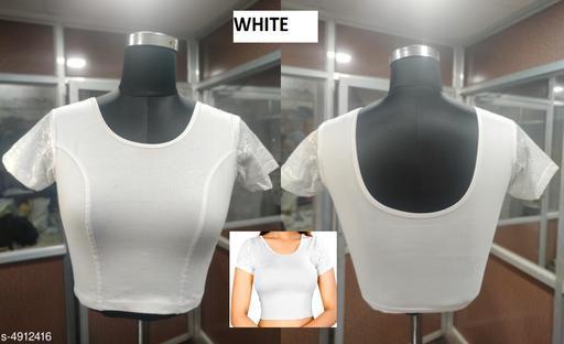Trendy Stylish Cotton Lycra Blouse