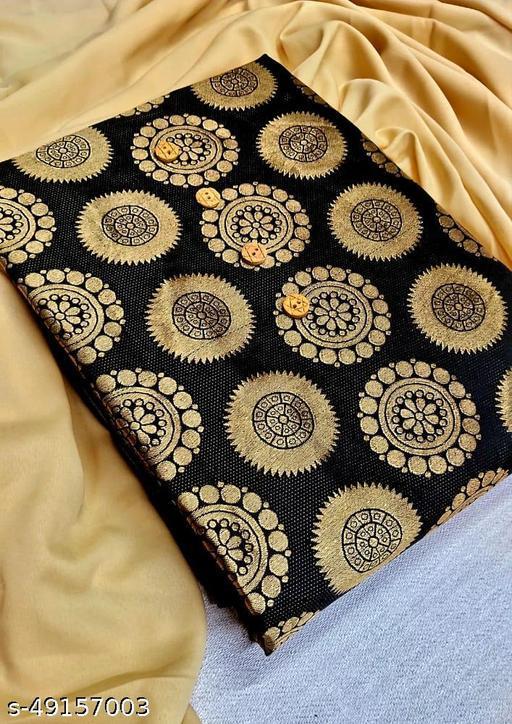New banarasi silk suit and bottom